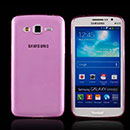 Coque Samsung Galaxy Grand 2 G7102 Silicone Transparent Housse - Rose
