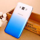 Coque Samsung Galaxy Grand 3 G7200 Degrade Etui Rigide - Bleu
