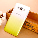 Coque Samsung Galaxy Grand 3 G7200 Degrade Etui Rigide - Jaune
