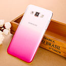 Coque Samsung Galaxy Grand 3 G7200 Degrade Etui Rigide - Rose Chaud