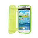Coque Samsung Galaxy Grand Duos i9080 i9082 Flip Silicone Transparent Housse - Verte