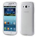 Coque Samsung Galaxy Grand Duos i9080 i9082 Silicone Transparent Housse - Blanche