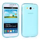 Coque Samsung Galaxy Grand Duos i9080 i9082 Silicone Transparent Housse - Bleu