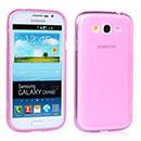 Coque Samsung Galaxy Grand Duos i9080 i9082 Silicone Transparent Housse - Rose