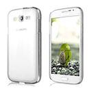 Coque Samsung Galaxy Grand Duos i9080 i9082 Transparent Plastique Etui Rigide - Clear