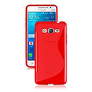 Coque Samsung Galaxy Grand Prime G530H S-Line Silicone Gel Housse - Rouge