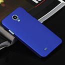 Coque Samsung Galaxy J N075T Plastique Etui Rigide - Bleu