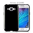 Coque Samsung Galaxy J1 Silicone Gel Housse - Noire