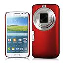 Coque Samsung Galaxy K Zoom Plastique Etui Rigide - Rouge