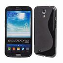 Coque Samsung Galaxy Mega 6.3 i9200 i9205 S-Line Silicone Gel Housse - Noire