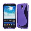 Coque Samsung Galaxy Mega 6.3 i9200 i9205 S-Line Silicone Gel Housse - Pourpre