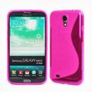 Coque Samsung Galaxy Mega 6.3 i9200 i9205 S-Line Silicone Gel Housse - Rose Chaud