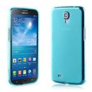 Coque Samsung Galaxy Mega 6.3 i9200 i9205 Silicone Transparent Housse - Bleu