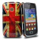 Coque Samsung Galaxy Mini 2 S6500 Le drapeau du Royaume-Uni Etui Rigide - Mixtes