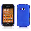 Coque Samsung Galaxy Mini 2 S6500 Plastique Etui Rigide - Bleu