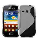 Coque Samsung Galaxy Mini 2 S6500 S-Line Silicone Gel Housse - Clear