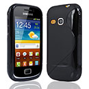 Coque Samsung Galaxy Mini 2 S6500 S-Line Silicone Gel Housse - Noire