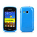 Coque Samsung Galaxy Mini 2 S6500 Silicone Gel Housse - Bleue Ciel