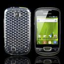 Coque Samsung Galaxy Mini S5570 Diamant TPU Gel Housse - Claire