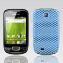 Coque Samsung Galaxy Mini S5570 Filet Plastique Etui Rigide - Bleue Ciel