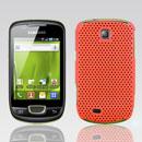 Coque Samsung Galaxy Mini S5570 Filet Plastique Etui Rigide - Orange