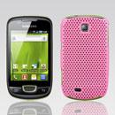 Coque Samsung Galaxy Mini S5570 Filet Plastique Etui Rigide - Rose