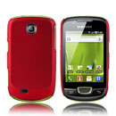 Coque Samsung Galaxy Mini S5570 Plastique Etui Rigide - Rouge