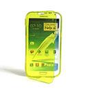 Coque Samsung Galaxy Note 2 N7100 Flip Silicone Gel Housse - Verte