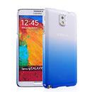 Coque Samsung Galaxy Note 3 N9000 Degrade Etui Rigide - Bleu
