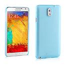 Coque Samsung Galaxy Note 3 N9000 Plastique Etui Rigide - Bleue Ciel