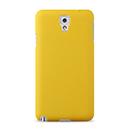 Coque Samsung Galaxy Note 3 N9000 Plastique Etui Rigide - Jaune