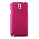 Coque Samsung Galaxy Note 3 N9000 Plastique Etui Rigide - Rose Chaud