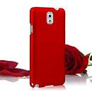 Coque Samsung Galaxy Note 3 N9000 Plastique Etui Rigide - Rouge