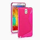 Coque Samsung Galaxy Note 3 N9000 S-Line Silicone Gel Housse - Rose Chaud
