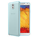 Coque Samsung Galaxy Note 3 N9000 Silicone Transparent Housse - Bleue Ciel