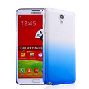 Coque Samsung Galaxy Note 3 Neo Lite N750 N7505 Degrade Etui Rigide - Bleu