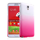 Coque Samsung Galaxy Note 3 Neo Lite N750 N7505 Degrade Etui Rigide - Rose Chaud