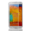 Coque Samsung Galaxy Note 3 Neo Lite N750 N7505 Flip Silicone Gel Housse - Clear