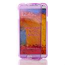 Coque Samsung Galaxy Note 3 Neo Lite N750 N7505 Flip Silicone Gel Housse - Pourpre