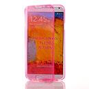 Coque Samsung Galaxy Note 3 Neo Lite N750 N7505 Flip Silicone Gel Housse - Rose
