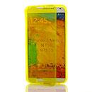 Coque Samsung Galaxy Note 3 Neo Lite N750 N7505 Flip Silicone Gel Housse - Verte