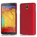 Coque Samsung Galaxy Note 3 Neo Lite N750 N7505 Plastique Etui Rigide - Rouge