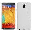 Coque Samsung Galaxy Note 3 Neo Lite N750 N7505 S-Line Silicone Gel Housse - Blanche