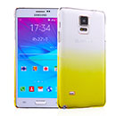 Coque Samsung Galaxy Note 4 N9100 Degrade Etui Rigide - Jaune