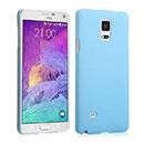 Coque Samsung Galaxy Note 4 Plastique Etui Rigide - Bleue Ciel