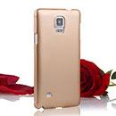 Coque Samsung Galaxy Note 4 Plastique Etui Rigide - Jaune