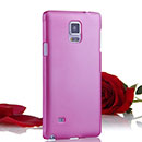 Coque Samsung Galaxy Note 4 Plastique Etui Rigide - Rose