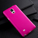 Coque Samsung Galaxy Note 4 Plastique Etui Rigide - Rose Chaud