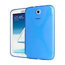 Coque Samsung Galaxy Note 8.0 N5100 N5110 X-Style Silicone Gel Housse - Bleu