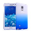 Coque Samsung Galaxy Note Edge N915 Degrade Etui Rigide - Bleu
